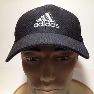 Adidas Hat Adjustable Navy Blue EUC
